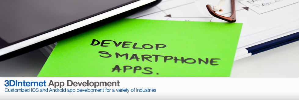 Customized iOS and Android app development for a variety of industries.